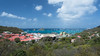 St. Barts and Bay (Ben_Senior) Tags: stbarts stbarths island stbarthelemy stbarthélemy caribbean frenchcaribbean frenchwestindies tropical blue water aqua sky cloud puffy cumulus bright sunlight paradise bensenior vacation tourism tourist bay nikond7100 nikon d7100 boat land landscape seascape sea harbour rock rocks isle ile building buildings city town gustavia