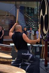 BANG (swong95765) Tags: drummer strong drums taiko musician performance bang banging