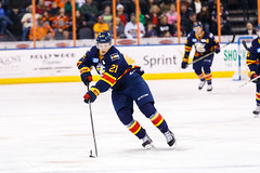 "Kansas City Mavericks vs. Colorado Eagles, December 16, 2017, Silverstein Eye Centers Arena, Independence, Missouri.  Photo: © John Howe / Howe Creative Photography, all rights reserved 2017. • <a style=""font-size:0.8em;"" href=""http://www.flickr.com/photos/134016632@N02/38428187504/"" target=""_blank"">View on Flickr</a>"