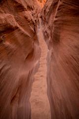 narrow pathway (Sam Scholes) Tags: redrockcountry utah robbersroostwilderness landscape slotcanyon neverstopexploring scenic exploring canyoneering canyoncountry dirtydevil southernutah hanksville