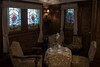 the room where Charlie Chaplin stayed (kasa51) Tags: ship liner specialcabin livingroom stainedglass hikawamaru yokohama japan 氷川丸 特別室 チャーリー・チャップリン 1930(昭和5)年竣工 parrot 鸚鵡 seattleroute シアトル航路