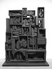 Little Boxes (Steve Taylor (Photography)) Tags: louisenevelson blackwall boxes found items bits tatemodern bankside london black art sculpture artgallery monochrome blackandwhite monotone uk gb england greatbritain unitedkingdom shapes