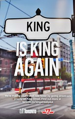 King is King Again, TTC, Toronto, ON (Snuffy) Tags: kingiskingagain torontotransitcommission ttc toronto ontario canada