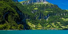 Bauen-pano-3 (Mel Gray) Tags: lakelucerne bauen switzerland scenic scenicview travel boattrip