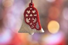 redBell (tobias-eger) Tags: memberschoicebokeh macromondays bell xmas bokeh macro makro weihnachten glocke