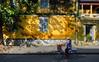 Hoi An, Vietnam (Ashit Desai) Tags: hoian vietnam ashit desai 2017 unesco heritage town city houses yellow colour sunrise sunset boats people conical hats tourists river lamps lanterns