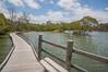 King Tide: image 2 (idunbarreid) Tags: boardwalk bench railings