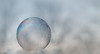 Alone in the Mist (tisatruett) Tags: bubble frozenbubble abstract art color mist cold frozen alone water macro