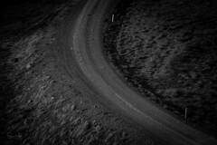 R O A D (SteinaMatt) Tags: búðardalsá dalabyggð dalir skarðsströnd steina matt steinamatt photography steinunn matthíasdóttir ljósmyndun black white bw road gravel vegur malarvegur island iceland