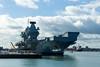 Queen Elizabeth 22nd September 2017 #7 (JDurston2009) Tags: hmsqueenelizabeth portsmouth portsmouthnavalbase queenelizabeth queenelizabethclass r08 aircraftcarrier hampshire royalnavy warship