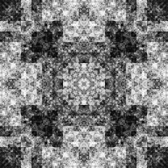 0433427283 (michaelpeditto) Tags: art symmetry carpet tile design geometry computer generated black white pattern