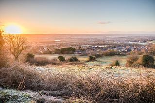 Frosty Belfast Sunrise