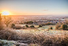 Frosty Belfast Sunrise (cmcm789) Tags: sunrise city belfast antrim northern ireland snow sun landscape photo tree hedges frost light sky foreground fields lisburn mourne moutains canon m5