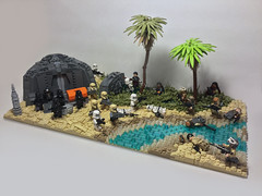The Battle of Scarif (Elven Ranger) Tags: lego star wars rogue one scarif beach battle soldiers stormtroopers rebels