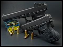Family Portrait (davelemi) Tags: glock mos jpoint g40 10mm handgun 9mm g43
