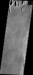 Pits at caldera's edge (THEMIS_IOTD_20180103) (ASUMarsSpaceFlight) Tags: arsiamons tharsis volcanics lavaflows calderas pitchains pitcraters lavatubes themis thermalemissionimagingsystem asu arizonastateuniversity msff marsspaceflightfacility nasa marsodyssey philipchristensen schoolofearthandspaceexploration sese mars marswatch