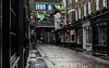 Sneaky smoking (PChamaeleoMH) Tags: bleachbypass carnabystreet centrallondon colorefexpro4 london nik smoking whiteneutralizer