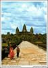 postcard - Angkor Wat, Cambodia 4 (Jassy-50) Tags: postcard angkor angkorwat temple siemreap cambodia angkorarchaeologicalpark khmer archaeology ancient ruins unescoworldheritagesite unescoworldheritage unesco worldheritagesite worldheritage whs buddhistmonk buddhist monk people