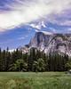 Yosemite half Dome (MiguelVP) Tags: 1993 yosemite film halfdome medow landscape
