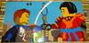 Jay-Nya-Mosaic (Xccj) Tags: jay nya ninjago ninja mosaic skybound