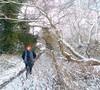 52 Weeks - Week 49 - Walking in a winter wonderland (World of Izon) Tags: footpath 52weeksproject 52weeksofselfportraits 52weekproject selfportrait