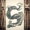 Shameleon (reXraXon) Tags: art artwork pencilart drawing handdrawing sketch pencilsketch typography lettering handlettering letteringart chameleon tree