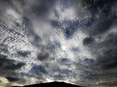 morning sky (curly_em) Tags: sky sunrise clouds patterns light bluesky mountain canaryislands loscristianos holiday vacation relaxing sunshine