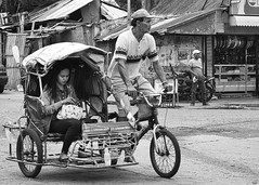 Pedicab (Beegee49) Tags: pedicab public transport filipina cycling bacolod city philippines