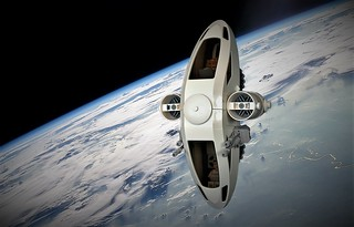BTC Shuttle in flight