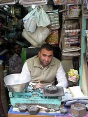 old delhi 2017 (gerben more) Tags: shop man stubbles eyes india olddelhi delhi newdelhi