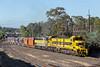 2017-12-12 SSR T386-T381-S317 Seymour 9383 (deanoj305) Tags: 9383 t386 t381 s317 ssr southern shorthaul railroad allied mills kensington grain train seymour goulburn valley railway australia au vic victoria