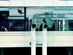 At Periscope Depth (jcbkk1956) Tags: petchaburiroad hospital bangkok iphone5 industrial pipes worldtrekker