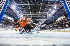 """Kansas City Mavericks vs. Colorado Eagles, December 16, 2017, Silverstein Eye Centers Arena, Independence, Missouri.  Photo: © John Howe / Howe Creative Photography, all rights reserved 2017. • <a style=""""font-size:0.8em;"""" href=""""http://www.flickr.com/photos/134016632@N02/39138137581/"""" target=""""_blank"""">View on Flickr</a>"""