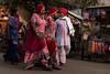 Pilgrims. Pushkar. Rajasthan. India (Tito Dalmau) Tags: people pilgrims woman man pushkar rajasthan india