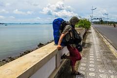 Cestou na ostrov Cat Ba (zcesty) Tags: vietnam17 silnice moře batoh vietnam halong dosvěta tphạlong quảngninh vn