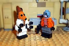 Nabrun Leids & Ponda Baba (OB1 KnoB) Tags: lego star wars minifigure custom ponda baba nabrun leids cantina guest mos eisley moseisleycantina tatooine rogue one episode vi 4