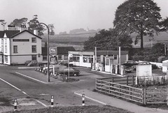 National - A576 Middleton, Nr Blackley, Manchester late 1960's (christopherbarker13) Tags: national petrolstation garage blackley 1960s middleton a576 manchester