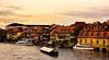 Morning in Bamberg (WilliamND4) Tags: bamberg germany river boats morning nikon d810