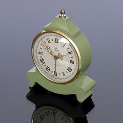 UTI SWIZA Miniature Alarm Clock (vicent.zp) Tags: dscn3359 uti swiza miniature alarm clock vintage suisse swiss