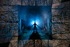 Framework. (FadeToBlackLP) Tags: longexposurephotography lightpainting lp cold hot blue mist atmospheric scifi