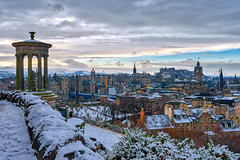 Edinburgh in the snow (Thanks for all the likes and comments) (MilesGrayPhotography (AnimalsBeforeHumans)) Tags: 1635 fe1635mm sonyfe1635mmf4zaoss architecture auldreekie a7ii britain balmoralclocktower balmoral city cityscape castle caltonhill dugaldstewartmonument edinburgh europe fe f4 glow graveyard historic historicscotland iconic ilce7m2 landscape lens landscapephotography monument memorial nd outdoors old oss oldtown observatory photography photo rocks ruins royalmile scotland sky scenic skyline scottish scottishlandscapephotography sonya7ii sony sonyflickraward snow town uk unitedkingdom village villagearchitecture volcano volcanic castlerock winter zeiss za princesstreet cemetery oldcaltoncemetery