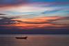 sunset at pattaya beach (Flutechill) Tags: sunset nature sea nauticalvessel dusk water sky summer landscape beach reflection outdoors tranquilscene silhouette sunrisedawn sun beautyinnature vacations scenics sunlight thailand pattaya