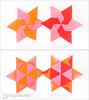 Modular Origami Stars (Maria Sinayskaya) Tags: 10010 15cmdoublesided 2dorigamistar daiyoshiko folded kamipaperduocolorcolor mariasinayskaya modularorigami origami origamistar square мариясинайская