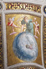 Fresco of the universe, viewed by a woman and two cherubs - Vatican Museum (Monceau) Tags: fresco painting ceiling panel vaticanmuseum universe woman cherubs