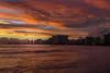 Waikiki Night Sky (outdoors_n_arkansas on instagram) Tags: sunset sunsetscapes hawaii oahuhawaii island waikikibeach waikiki ocean pacificocean rogerchavers spsnaturephotographyarkansas city skyscape skyline beach waves