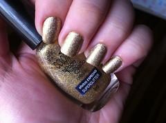 Unha da Virada (Kassy Morales) Tags: unhacomemorativa colorama dourado