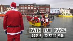 Poole's Bath Tub Race 2018 (Mark Rigler -) Tags: poole bath tub race 2018 water sea wet cold people sky boat craft fun crazy fight