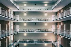 Where am I (**capture the essential**) Tags: 2017 architecture architektur atrium backlight backlit fotowalk gegenlicht häuserwohnungen innenarchitektur licht light munich münchen sonya6300 sonyfe1635mmf4zaoss sonyilce6300 analog analogue