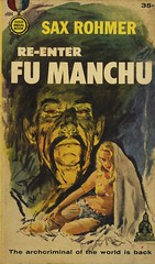 Gold Medal Books s684 - Sax Rohmer - Re-Enter Fu Manchu (swallace99) Tags: goldmedal vintage 1950s espionage mystery paperback baryéphillips