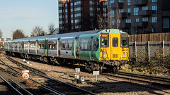 455807 (JOHN BRACE) Tags: 1982 brel york built class 455 emu 455807 seen east croydon station southern livery